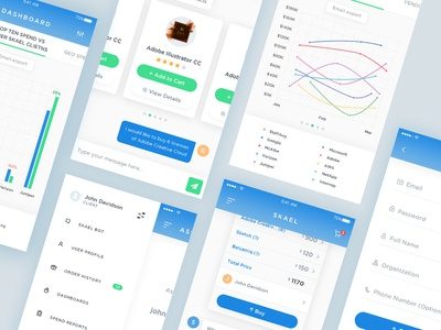 Chatbot ecommerce mobile app