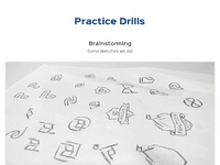 Practice drills realpixels