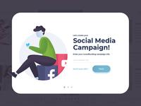 Social Media Storytelling Application Overlay