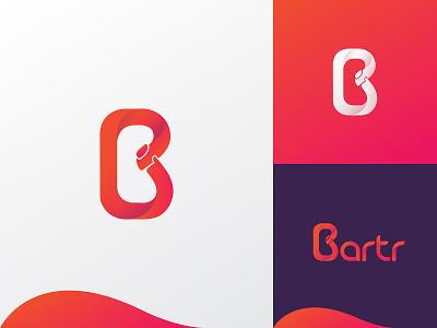 Bartr Logo Project logodesign copyright project design logo
