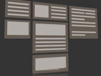 Wireframe for a flexbox project