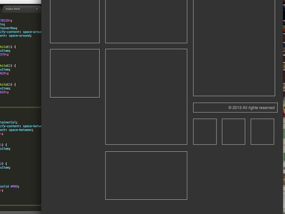 Flexbox in Progress flexbox css layout scss