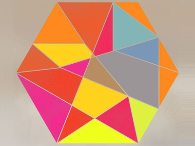 Geo Design illustration color geometry for fun