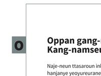 Oppan Source Sans Pro - style