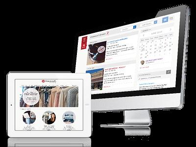 Stantive Intranet internal tool platform commerce web design orchestra cms salesforce responsive mobile portal branding ux stantive