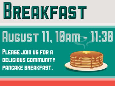 Pancake breakfast Poster poster