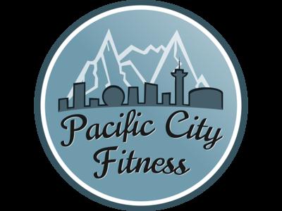 Logo Final Badge blue logo vancouver mountains skyline badge