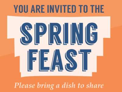 Spring feast 2014 draft spring feast orange blue