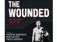 The wounded Poster