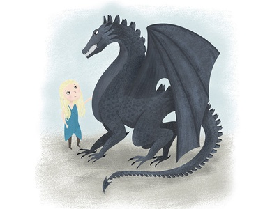 Just a girl and her dragon
