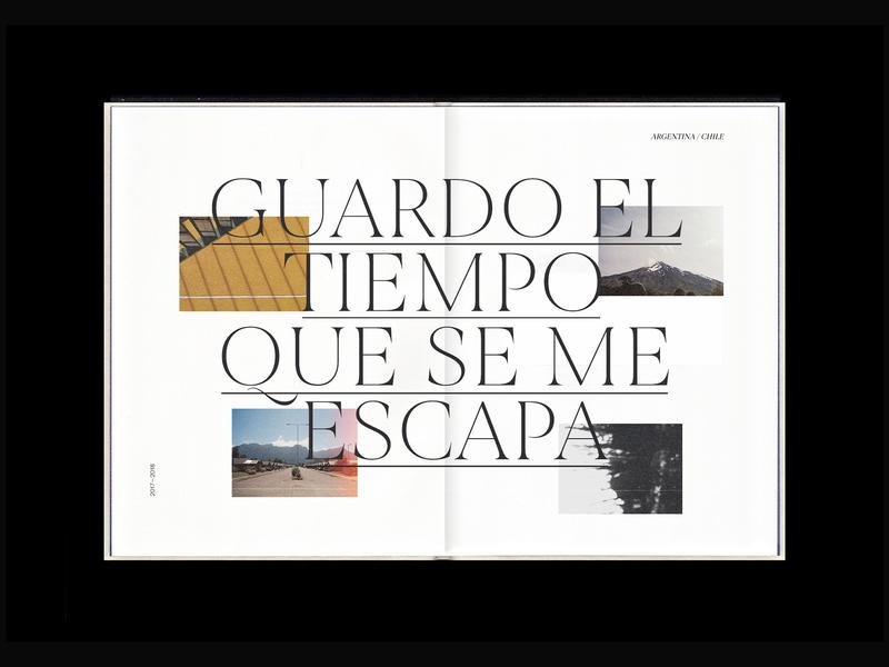 Fanzine / Guardo el tiempo que se me escapa editorial layout fanzine photography editorial graphic design