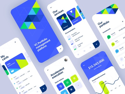 VC management tool israel app design mobileui app branding ios product design mobile interface ux tel aviv ui