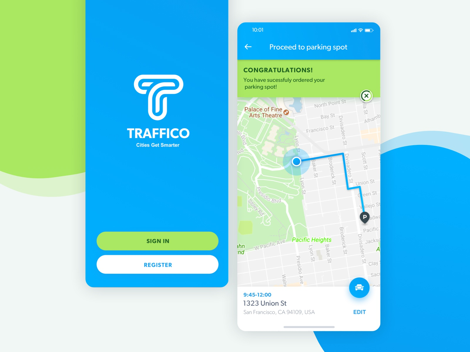 Traffico Mobile App by limor tabeka on Dribbble