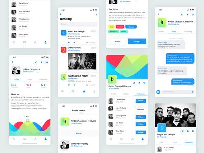 Heylo public chat app product design ios design mobile white interface app israel tel aviv ux ui