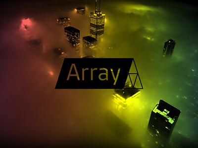 Array Cover Art social promo cover art array design