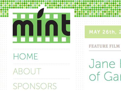 MINT Film Festival web media queries mintff