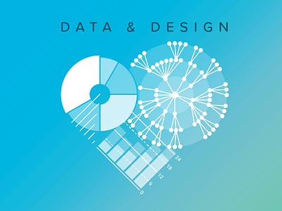 Data And Design heart data illustration data and design info design data design data analytics big data data visualization data