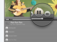 Music Player controls