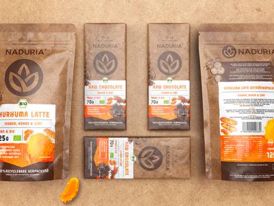Naduria ® / Plastic Free Package Product Range