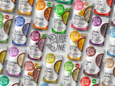 Pure One ™ / Product Range Package Prototype, Market Campaign