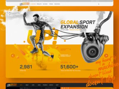 ENDORADO™ / Home Page Design Prototype Sketch