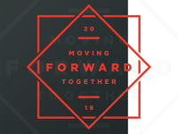 Moving Forward Together Badge