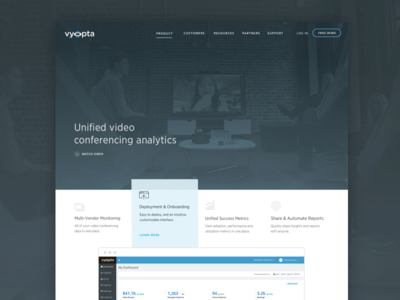 Video Conference Product Page