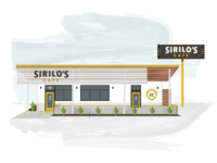 Sirilo's Cafe Exterior