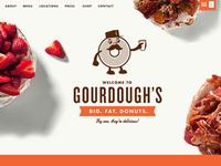 Gourdough's Parallax Scrolling Website Coming Soon