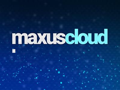 MaxusCloud 3d blender motion graphics