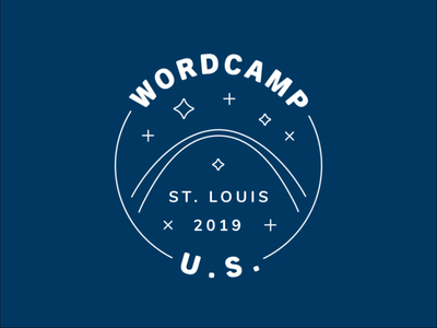 WordCamp US 2019 Sparkles wcus tradeshow technology motion graphics