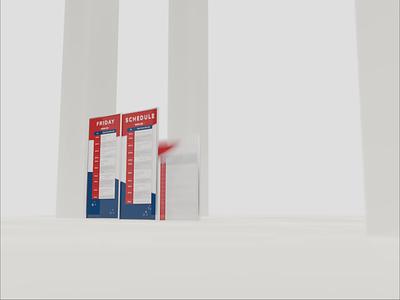 WordCamp US Schedule wcus blender 3d technology tradeshow graphic design