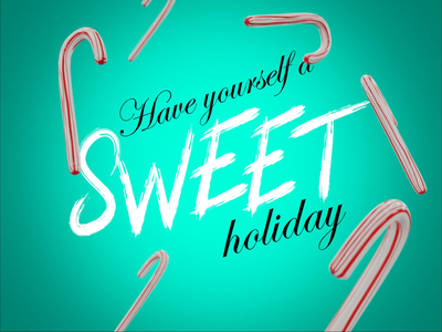 Sweet Holiday christmas holiday blender3d blender after effects motion graphics