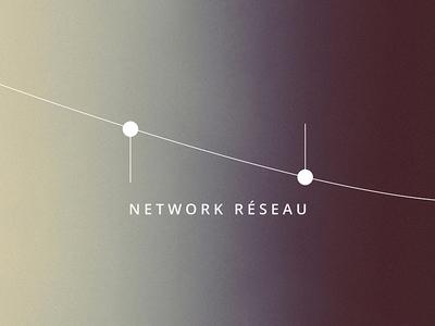 Network Reséau Rebrand