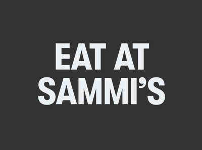 Eat at Sammi's