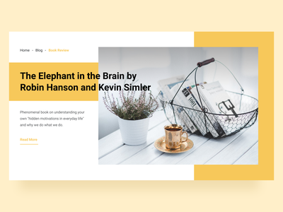 Exploration Article Web Card blog design clean ui landing page article page website card gradient clean figmadesign figma