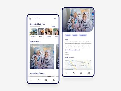Event App Concept tutorial hijab mobile app mobile ui uiux design workshop event app event