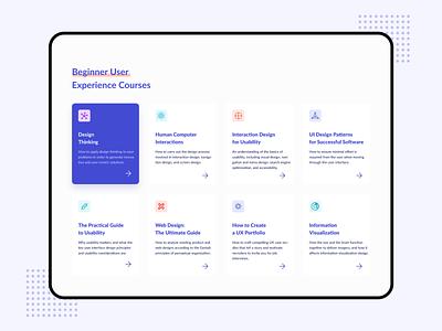 Web - Category Exploration card design menu card website design homepage categoty webdesign uiux