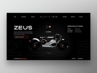 Curtiss Motorcycles Redesign
