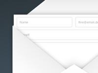 Contact form UX