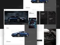Alfa Romeo Landing page