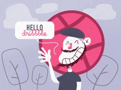 Hello Dribbble 01/02