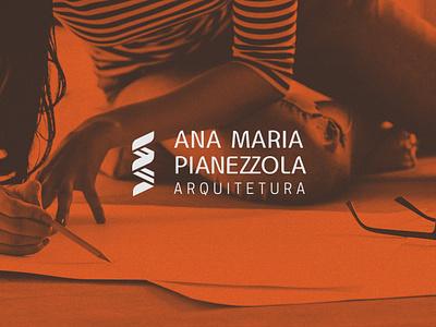 Ana Maria Pianezzola Architecture visual identity brand identity dna architecture logo design branding