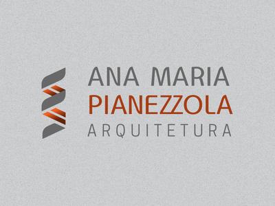 Ana Maria Pianezzola Architecture dna stair visual identity architecture brand identity design logo branding