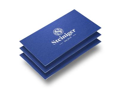 Business card design logo type branding typography