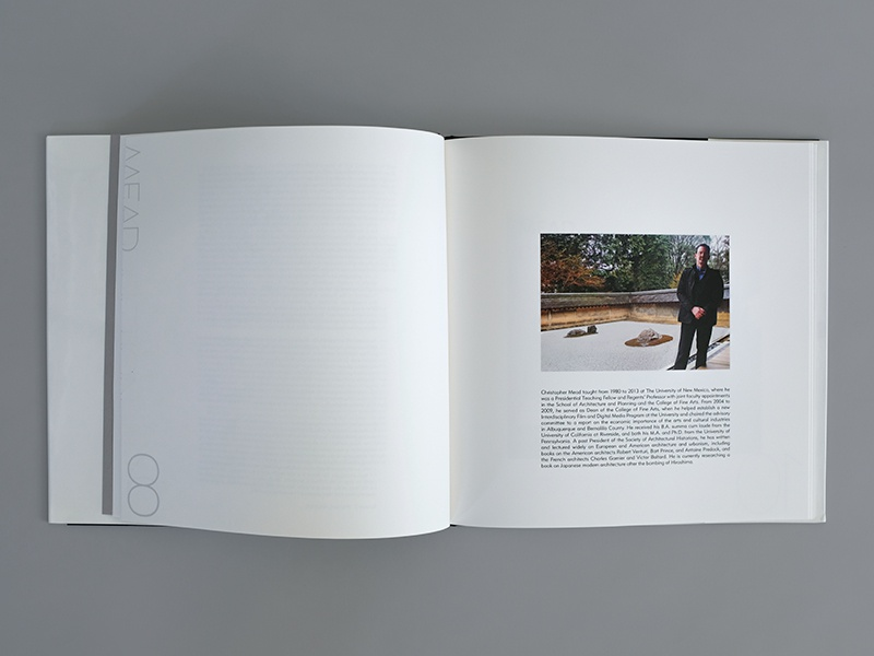 On Architecture: Introduction university of new mexico unm architecture page layout graphic design book design book
