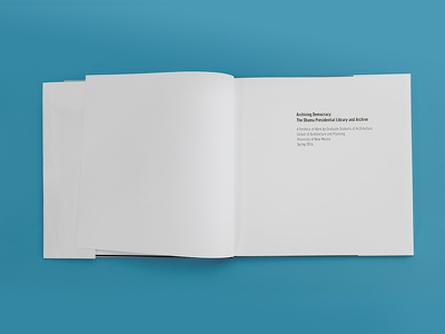 Archiving Democracy (Title Page) university of new mexico unm book book design graphic design page layout architecture