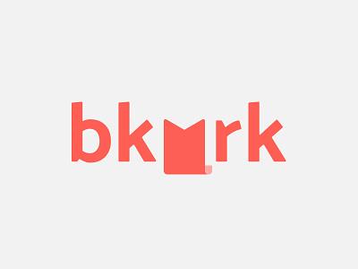 bkmrk identity wordmark exploration concept logo