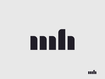 Personal Identity Logo Exploration 01b portfolio modernism initials mark identity logo