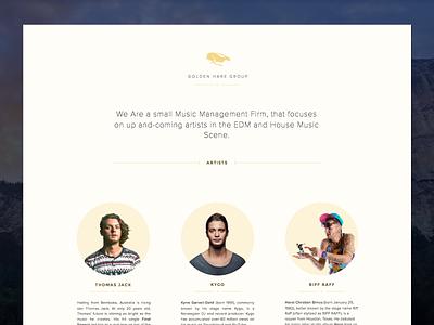 Website Redesign web website redesign kygo music house